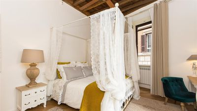 Photo for Beautiful apartment in unique and elegant location behind Piazza Navona
