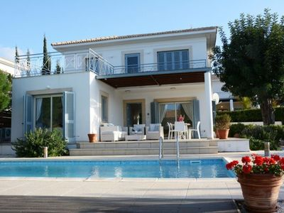 "Photo for ""Villa with Fantastic sea and mountain views"" Polis Villa 97"
