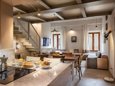 Photo for Luxury Penthouse with Modern Amenities in the Heart of Old Siena