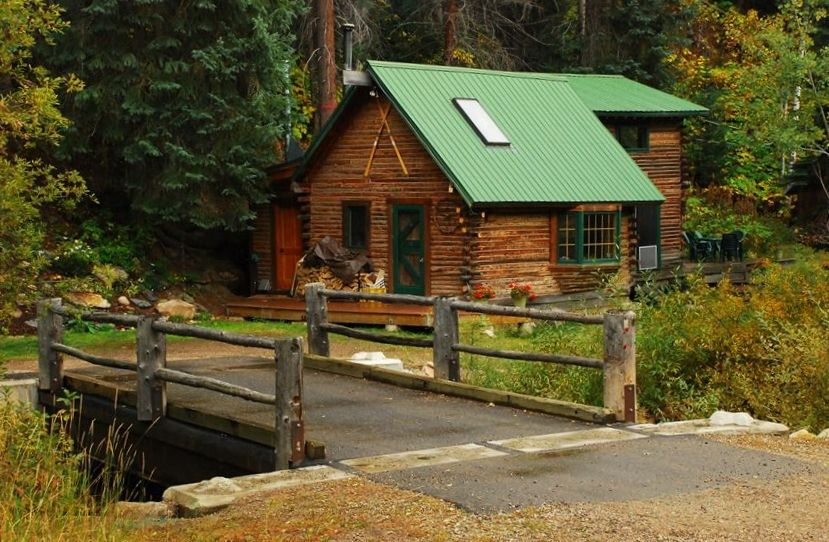 Cozy romantic cabin in the woods 1 mile to downtown for Cabins in steamboat springs