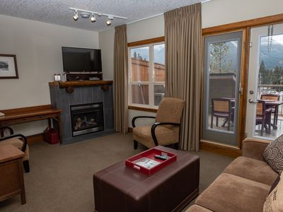 Photo for Cozy condo Located only 10 minute walk from downtown Canmore