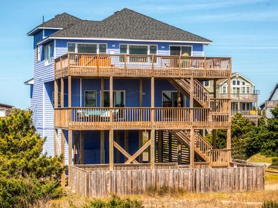 Photo for Relax at Oceanfront, Waves w/ Pool, Hot Tub, Game Rm & Media Lounge, DogFriendly