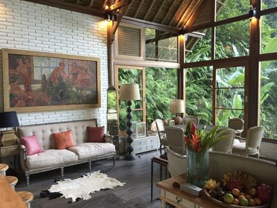 Photo for Luxurious villa In A Rice-Field Valley, Stairway To Heaven, Ubud Area, 3 BR