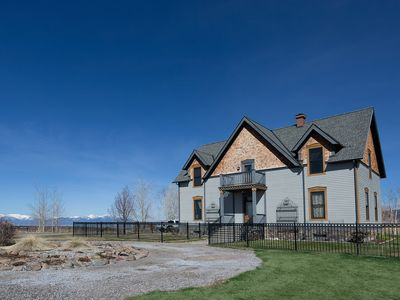 Photo for 5-Star Historic Home; Magnificent Views; Quick to Bozeman & Big Sky; Hottub