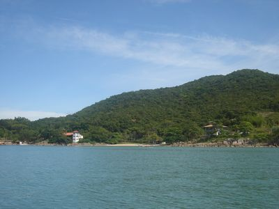 Photo for Comfortable House On The Waterfront And Beach Facing Florianopolis