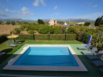 Photo for Close to Alcudia great value countryside 6 bedroom house, table-tennis
