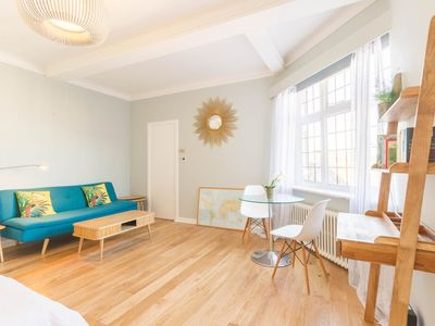Photo for NEW Chic 1BD Studio Flat in Popular Bloomsbury
