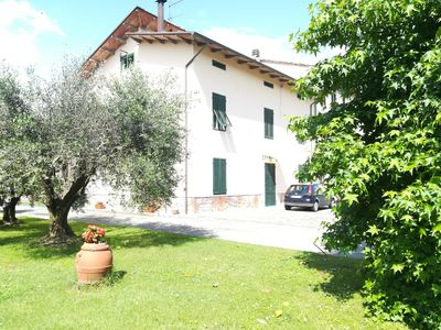 Photo for Holiday home nicolao lucca (garden park) Capannori Tuscany countryside