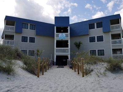 Photo for DIRECT Oceanfront 2nd Floor Unit.. just STEPS to the beac