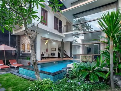 Photo for Nakula1, 3 Bedroom Villa, Contemporary Design, Seminyak