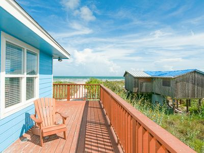 Photo for Raised Beachfront 4BR w/ Wraparound Deck & Panoramic Gulf View, Near Eateries