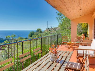 Photo for VILLA ESTELLENCS - amazing view sea & mountain-