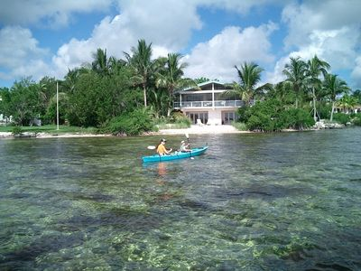 Photo for Sugarloaf Key Open Water Home With Beach, Dock, Canal