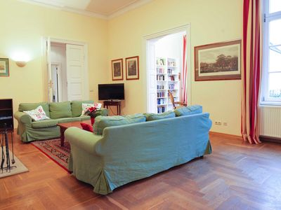 Photo for Vacation rental mansion apartment (5 pers.) - FerienGut Dalwitz manor house