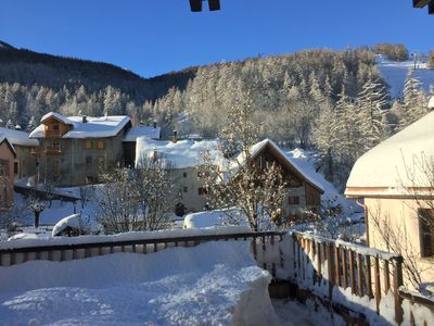 Photo for Chantemerle - T3 duplex 3 *, ski slopes, country house, facing south