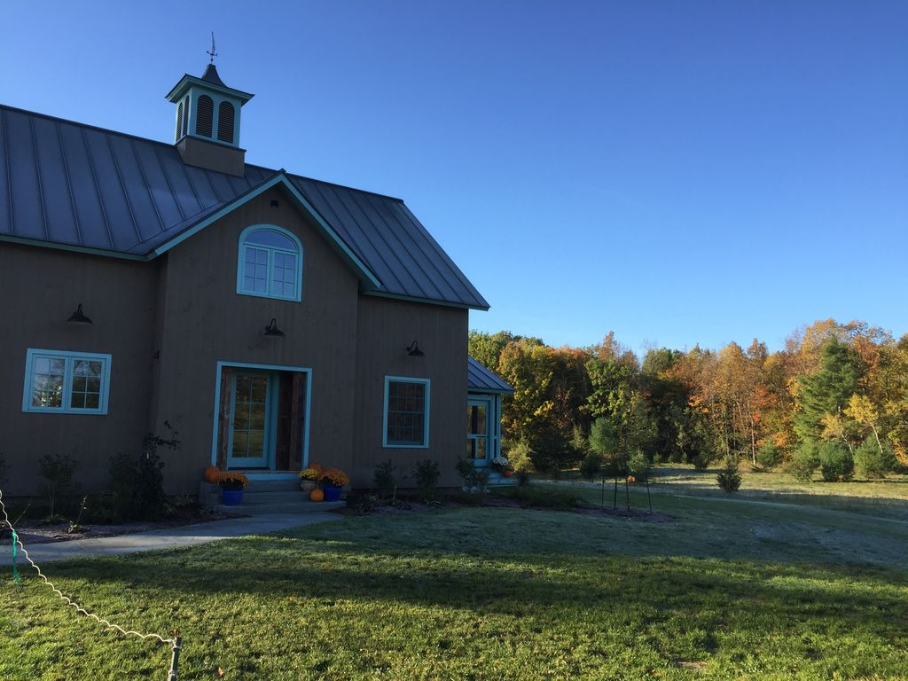 Charming Guest Barn Cornwall Vt Near Middlebury College Homeaway
