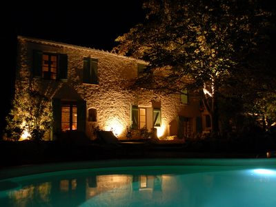 Photo for Charming Farmhouse, tastefully restored with private pool and stunning views