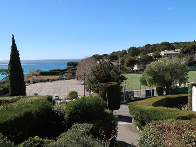 Photo for Beautiful T2 terrace sea view in secure residence with parking