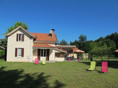 Photo for Vacation home Campagne in Mimizan - 10 persons, 4 bedrooms