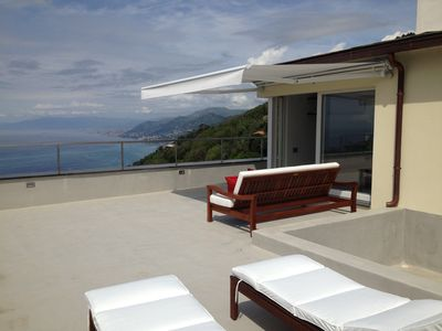 Photo for Penthouse with spectacular sea view terrace