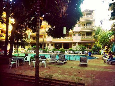 Photo for 2BR Apartment Vacation Rental in Candolim, Goa