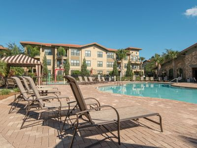 1st floor Condo with Pool View Balcony at Bella Piazza Resort near Disney