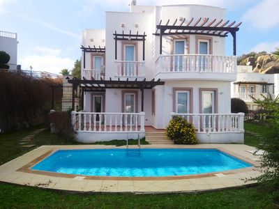 Photo for DETACHED FAMILY VILLA WITH OWN POOL IN UNIQUE HOLIDAY VILLAGE, BODRUM, YALIKAVAK