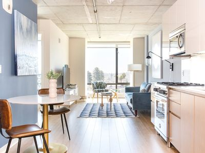 Photo for Sonder | Duboce Apartments | Modern 1BR + Rooftop