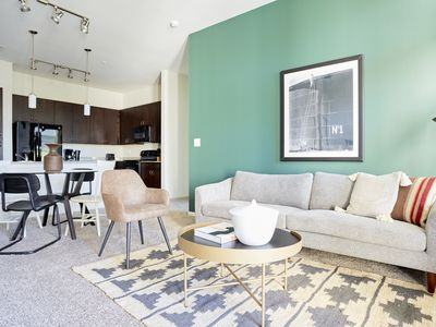 Photo for Sonder | Haven at Main | Central 2BR + Pool