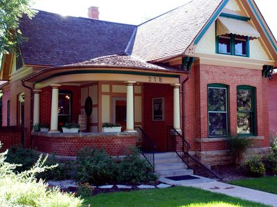 Photo for Victorian Charm in Old Town Fort Collins--Restaurants, Breweries, New West Fest!