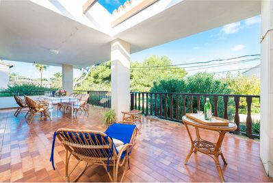 Spacious and comfortable terrace