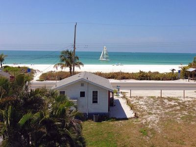 Photo for Romantic Beach Cottage 30 feet from Beach & Gulf w/ Paddle Board, Kayak