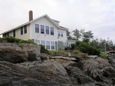 Photo for Waterfront Family Compound  Bungalow on Beautiful Potts Harbor