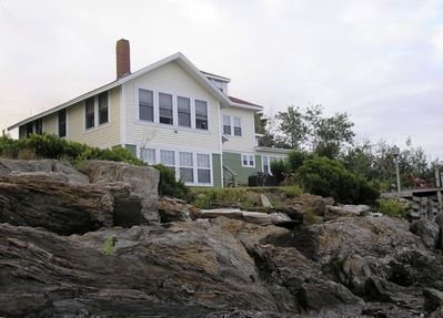 View of cottage from shore