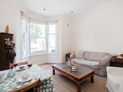 Photo for Bright Gratton Road apartment in Kensington & Chelsea with .