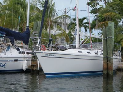 Photo for Stay On-board a 42 Ft. Sail Boat in the Keys near Key Largo.