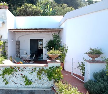 """Photo for """"Suite Dolce Vita"""" Capri A TERRACE ON THE SEA 10 MINUTES FROM THE PIAZZETTA"""
