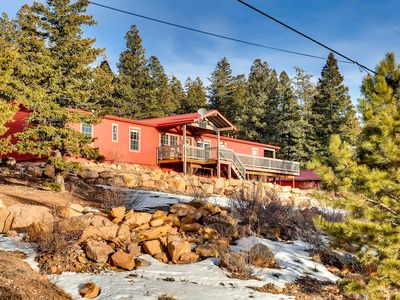 Photo for Red Mountain Ranch has fabulous view of the Continental Divide with a new Hot Tub
