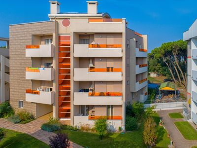 Photo for Rosolina Mare Nuova Holiday Home in Green Building - 2 bedrooms and 2 bathrooms