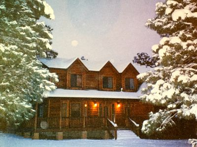 Photo for Gorgeous Mountain Home Bordering National Forest