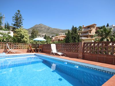 Photo for Villa with views of Mount calamoro, Benalmadena