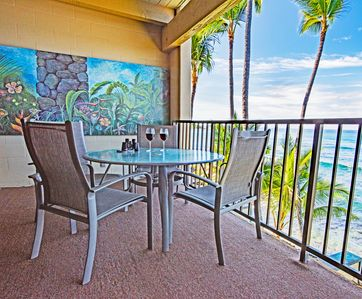 Photo for Stunning Oceanfront View ~1 or 2 bdrm ~Private Lanai ~Elevator ~A/C ~W/D
