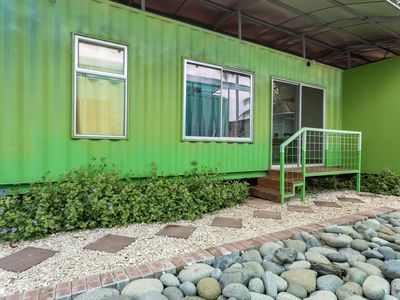 Photo for *BRAND NEW* Home Sweet Shipping Container (GREEN)