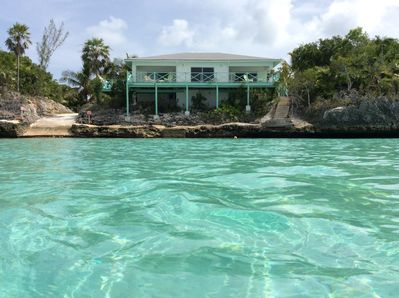 Your view is the beautiful Caribbean Sea in your front yard.