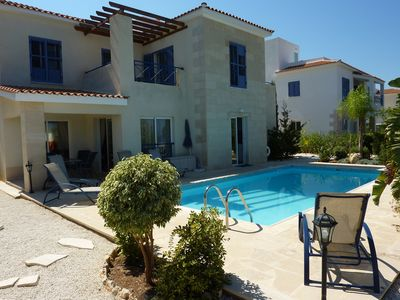 Photo for 3 Bed Villa,Private Pool, Sea View and WIFI