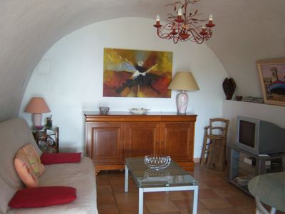 Photo for Rental 50 M2, quiet ten minutes from the beaches and hikes in the maquis.