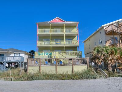 Photo for Sandy Paws and Feet, Pet Friendly, Oceanfront, Game Room and Pool