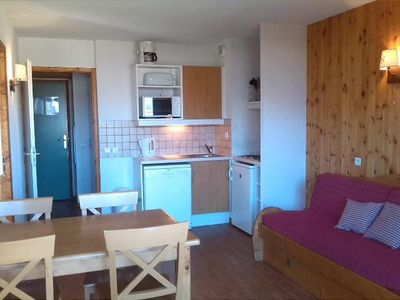 Photo for Surface area : about 35 m². Orientation : North, East. Living room with pull-out sofa