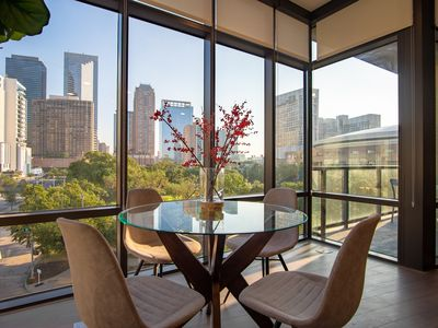 Photo for Panoramic Luxury Apartment in Downtown Houston