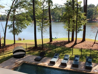 Photo for Luxury Lake Front with Heated Pool